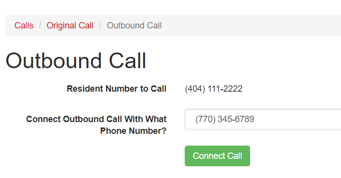 Outbound Phone Calls